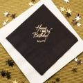 Black Tea Napkin