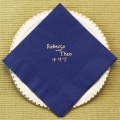 Blue Tea Napkin