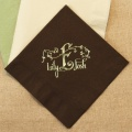 Brown Tea Napkin