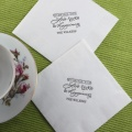White Tea Napkin