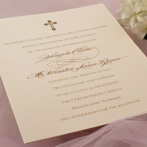 Wedding Invitation R 171