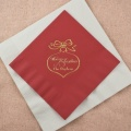 Red Tea Napkin